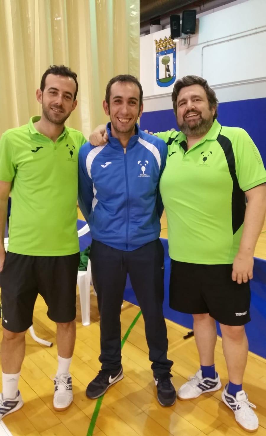 Carlos, Luis y Antonio
