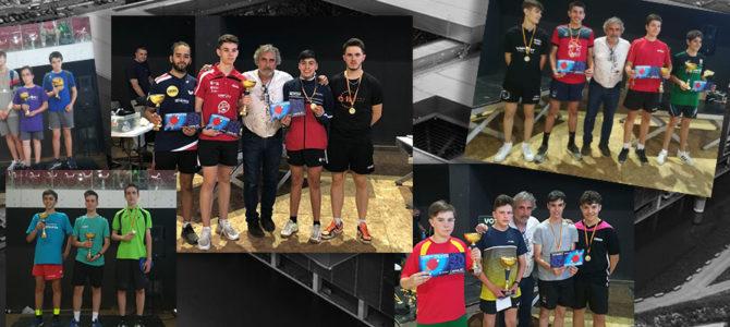Éxito en el I Torneo de tenis de mesa Caja Mágica