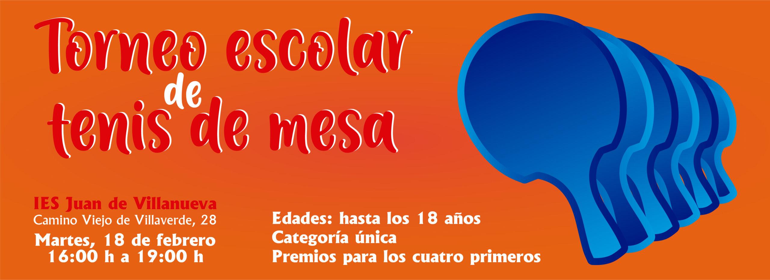 I Torneo Escolar Madrid CTM
