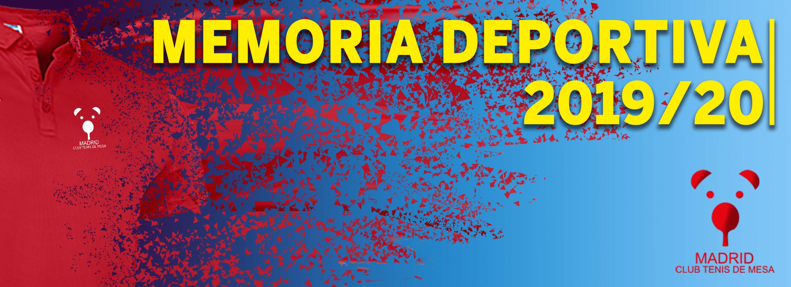 Memoria deportiva 2019/20
