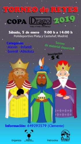 Cartel Torneo reyes 2019