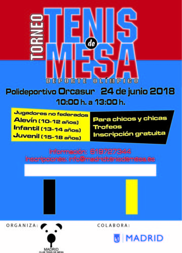 Cartel Usera 2018