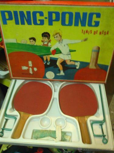 Juego ping pong 7a