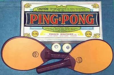 Juego Ping Pong. Parker Brothers moderno